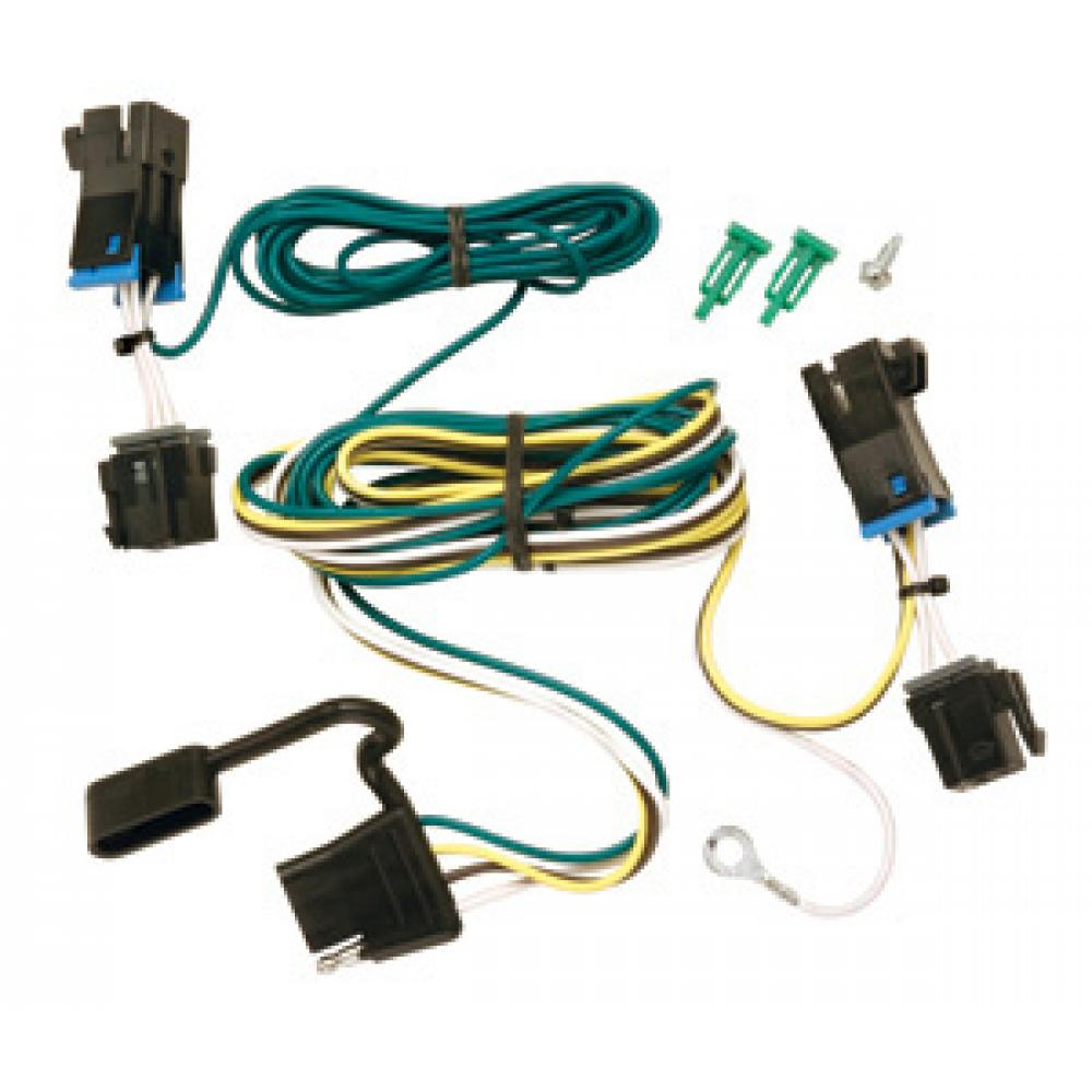 trailer wiring harness kit for 03-19 chevy express 03-18 gmc savana 1500  2500 3500