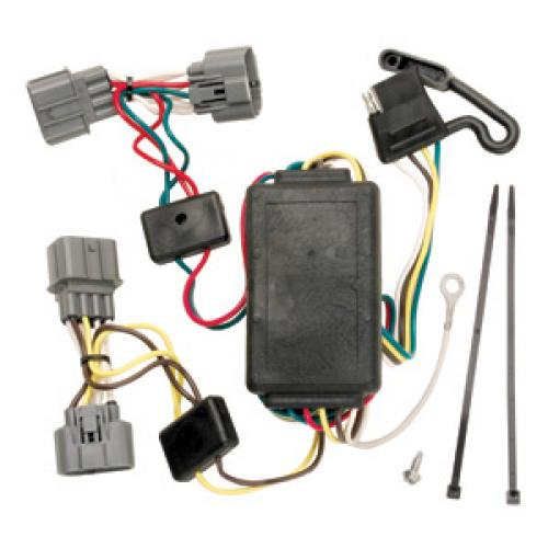Trailer wiring harness kit for honda ridgeline all