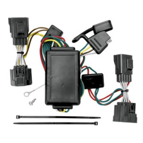 trailer wiring harness kit for 06 10 jeep commander all styles commander trailer brake wiring #8