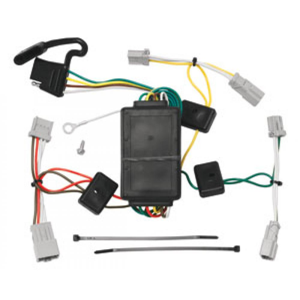 trailer wiring harness kit for 09 14 acura tsx 08 12 honda. Black Bedroom Furniture Sets. Home Design Ideas