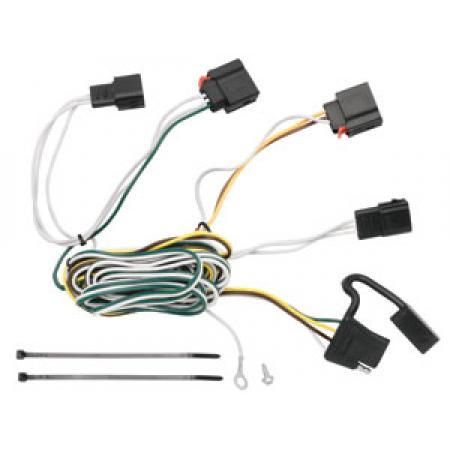 Trailer Wiring Harness Kit For 07-13 Jeep Grand Cherokee All Styles