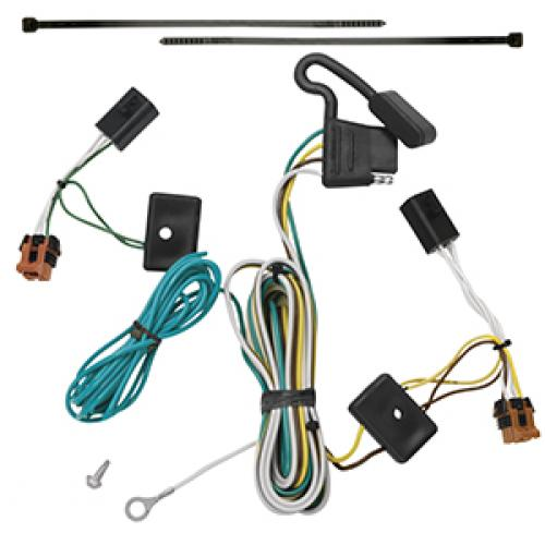 0712 GMC Acadia Trailer Wiring Light Harness Plug Kit