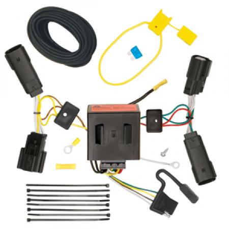 Trailer Wiring Harness Kit For 11-14 Ford Edge All Styles