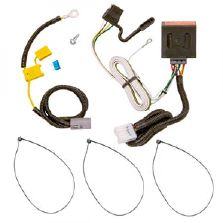 Trailer Wiring Harness Kit For 07-13 Mitsubishi Outlander Except Sport