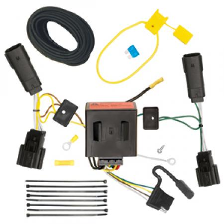 Trailer Wiring Harness Kit For 11-15 Lincoln MKX All Styles