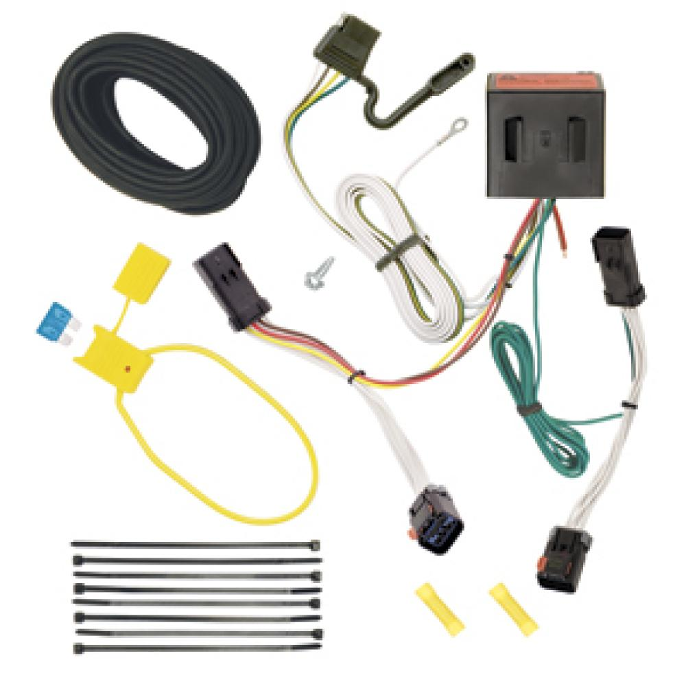 Trailer Wiring Harness Kit For 02-07 Jeep Liberty All Styles  TrailerJacks.com