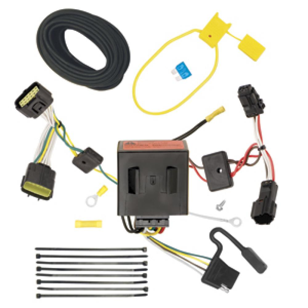 Trailer Wiring Harness Kit For 11-16 KIA Sportage All Styles on