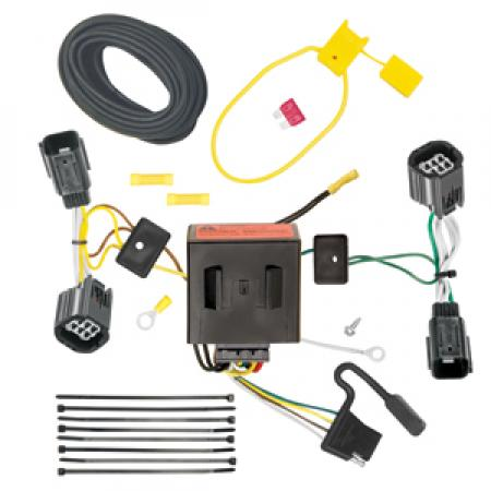Trailer Wiring Harness Kit For 11-20 Dodge Grand Caravan 11-16 Chrysler Town & Country 12-15 RAM C/V Tradesman 21 Chrysler Grand Caravan