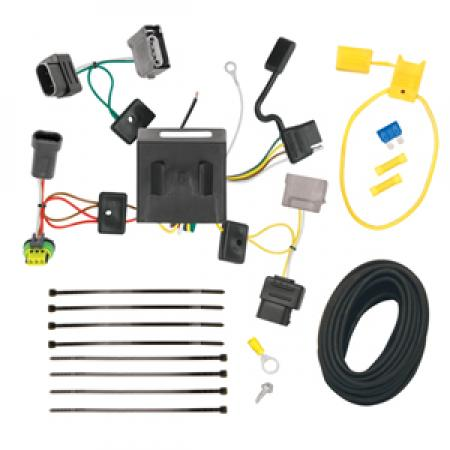 Trailer Wiring Harness Kit For 11-18 Dodge Journey w/LED Taillights