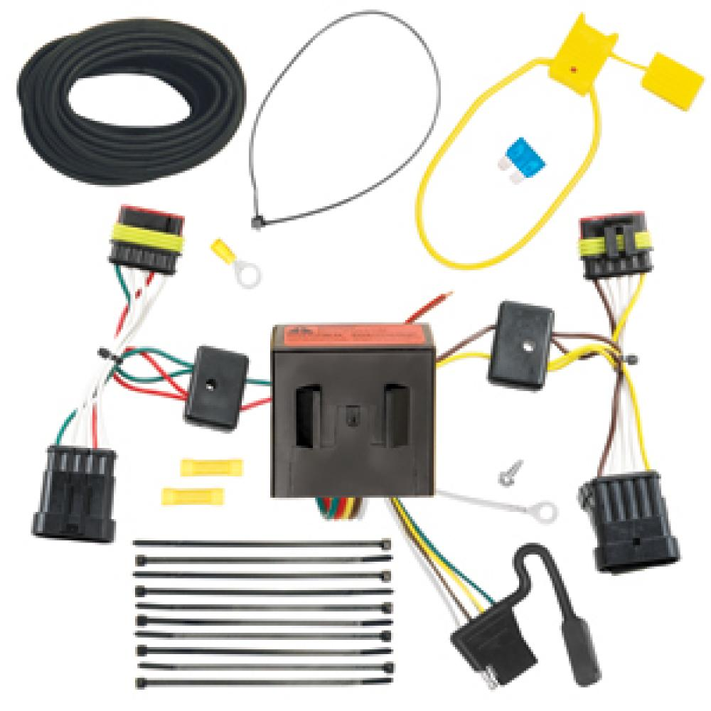 Trailer Wiring Harness Kit For 12 18 Fiat 500 All Styles