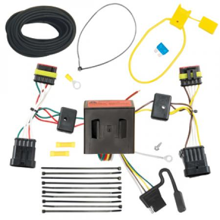 Trailer Wiring Harness Kit For 12-18 FIAT 500 All Styles