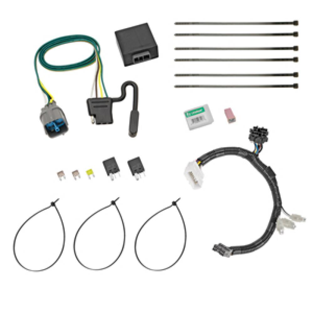 Trailer Wiring Harness Kit For 12-15 Honda Pilot All StylesTrailerJacks.com