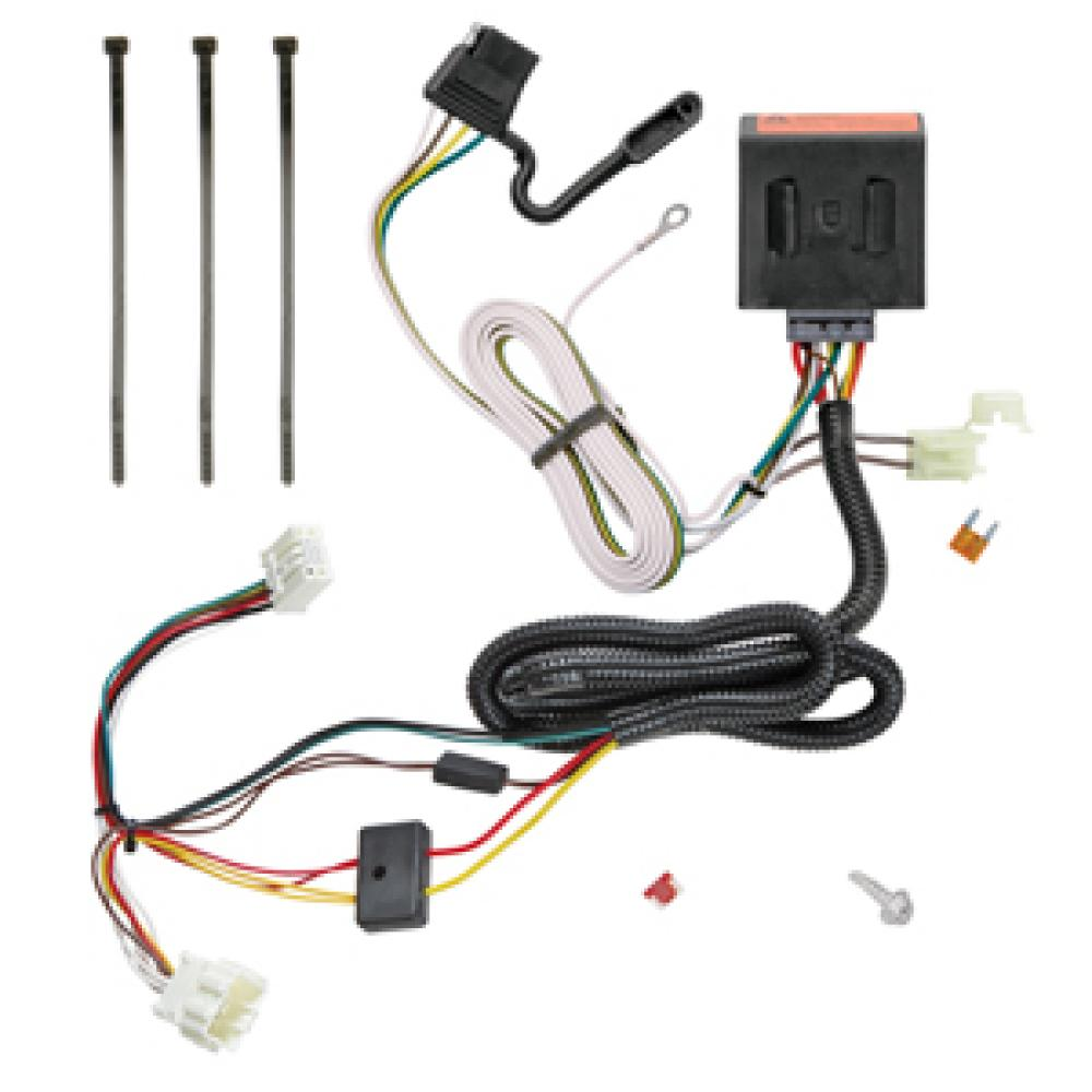 trailer wiring harness kit for 12-16 honda cr-v all styles honda cr v starter wiring diagram