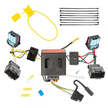 Trailer Wiring Harness Kit For 06-10 VW Volkswagen Passat 4 Dr. Sedan