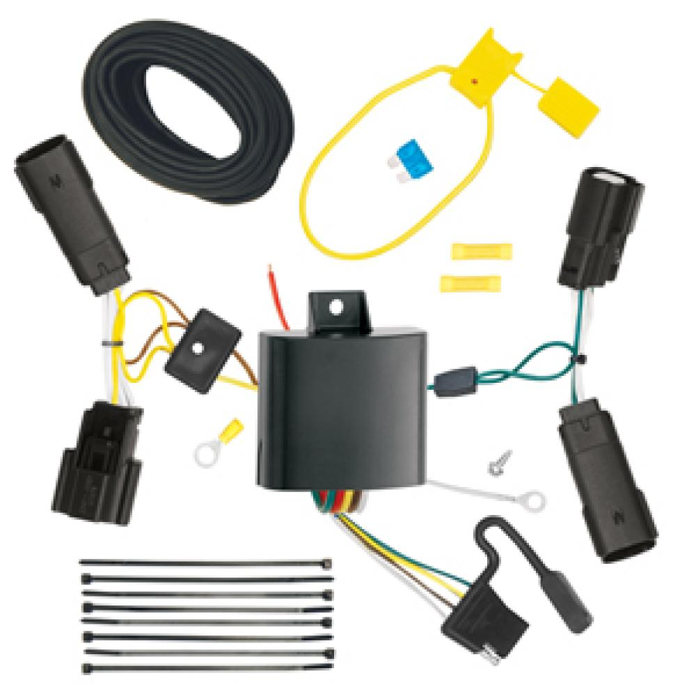 Trailer Wiring Harness Kit For 13-20 Ford Fusion All StylesTrailerJacks.com