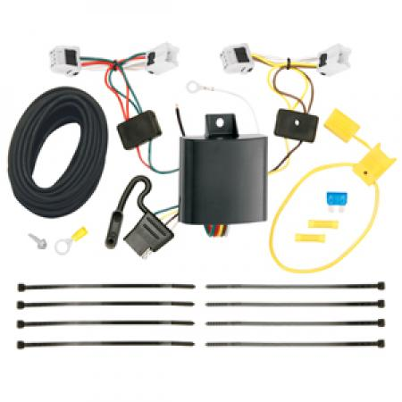 Trailer Wiring Harness Kit For 15-17 Chevy City Express 13-17 Nissan NV200
