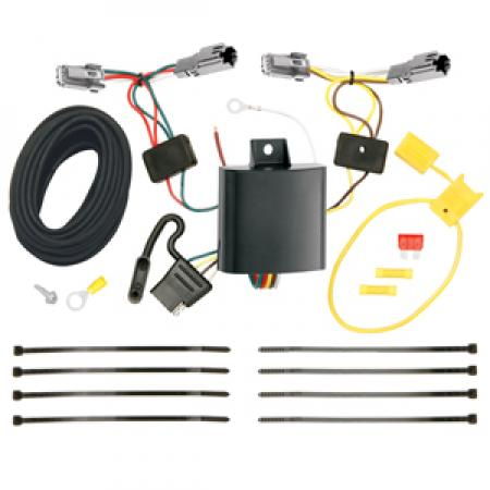 Trailer Wiring Harness Kit For 13-15 Chevy Malibu LTZ 2016 Limited LTZ Old Body Style