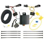 Trailer Wiring Harness Kit For 13-15  Chevy Malibu Except LTZ 2016 Limited Except LTZ Old Body Style