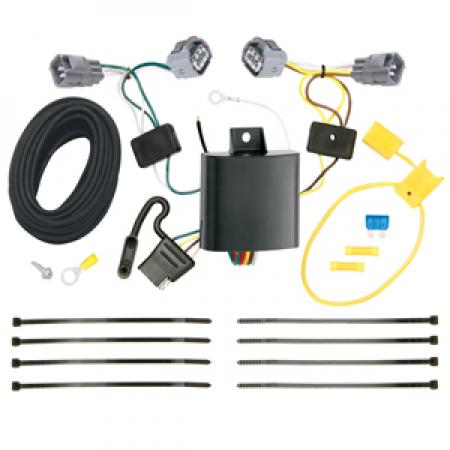 Trailer Wiring Harness Kit For 14-18 Jeep Cherokee All Styles