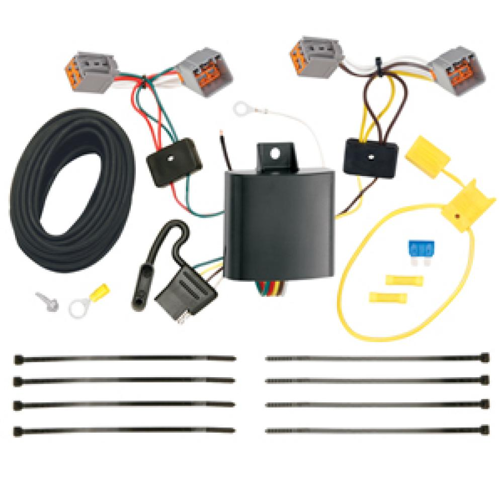Trailer Wiring Harness Kit For 14-20 Ford Transit Connect All StylesTrailerJacks.com