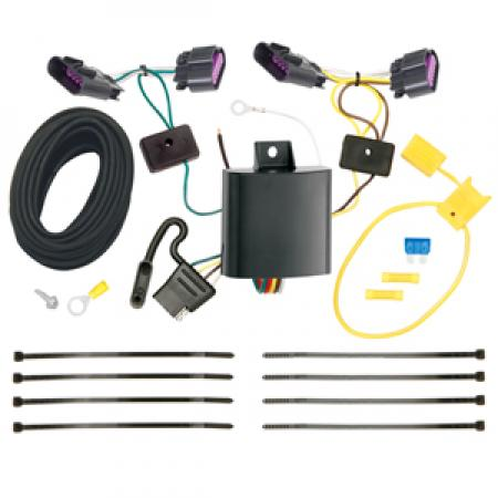 Trailer Wiring Harness Kit For 14-20 Dodge Durango All Styles