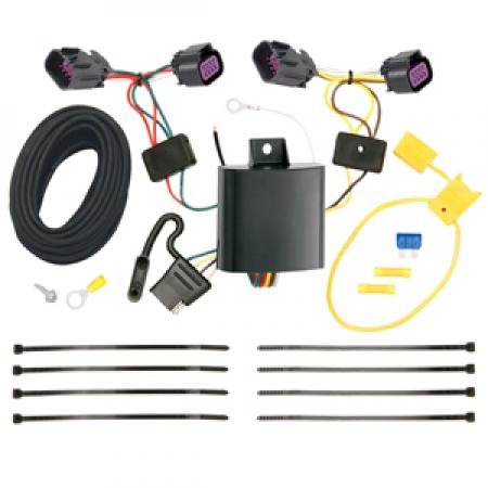 Trailer Wiring Harness Kit For 14-20 RAM ProMaster 1500 2500 3500 All Models