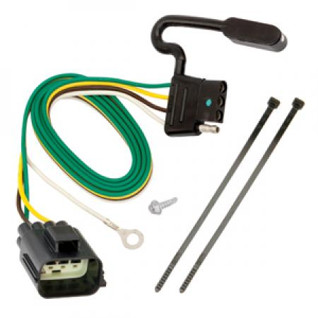 Trailer Wiring Harness Kit For 12-14  Land Rover Range Rover Evoque  All Styles
