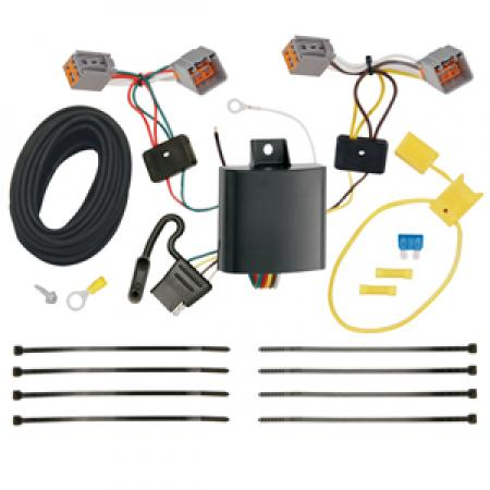Trailer Wiring Harness Kit For 15-17 Volvo V60 (App. starts with 2015-1/2)