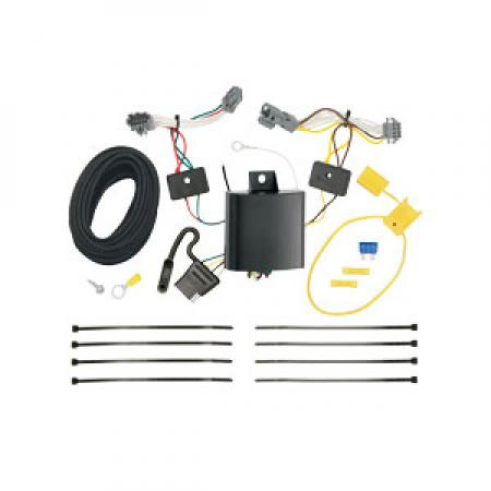 Trailer Wiring Harness Kit For 17-19 Chevrolet Trax LS 13-16 Trax All Styles