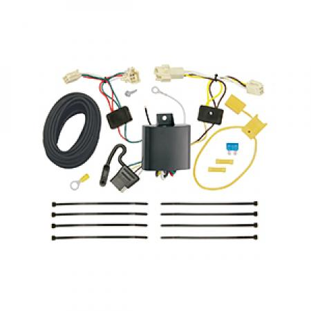 Trailer Wiring Harness Kit For 15-19 Toyota Yaris All Styles