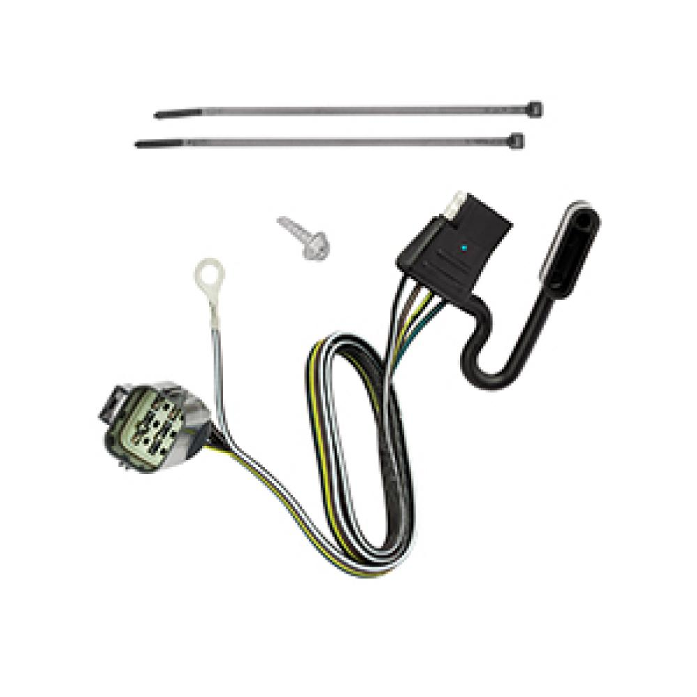 Trailer Wiring Harness Kit For 14-17 Land Rover Range Rover ... on