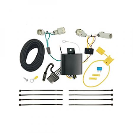 Trailer Wiring Harness Kit For 17-18 Lincoln Continental 16-18 MKX All Styles