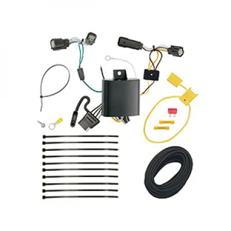 Trailer Wiring Harness Kit For 16-18 Chevrolet Camaro All Styles