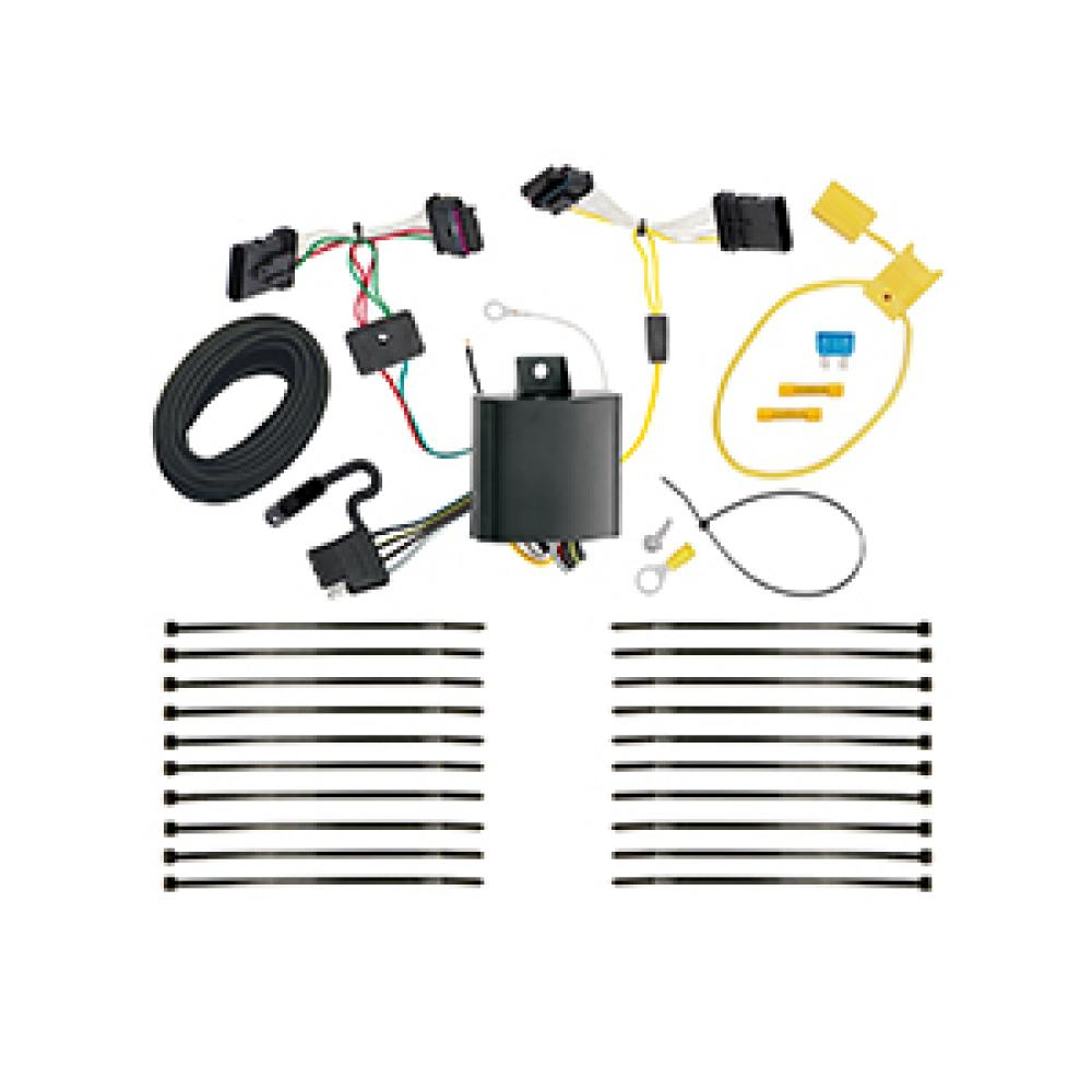 Trailer Wiring Harness Kit For 16-18 FIAT 500X All Styles on