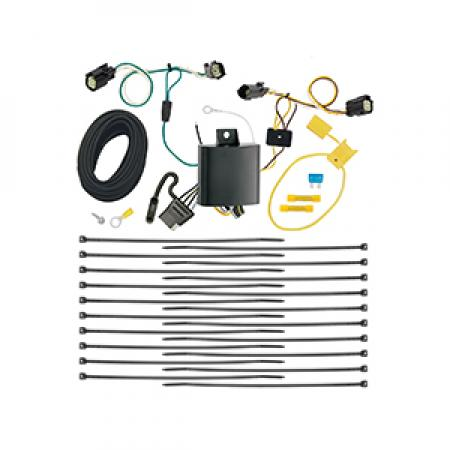 Trailer Wiring Harness Kit For 17-19 Chrysler Pacifica Limited Touring L Plus