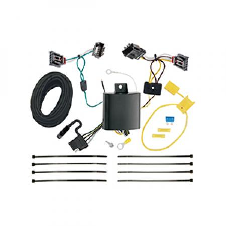 Trailer Wiring Harness Kit For 13-17 VW Volkswagen CC All Styles