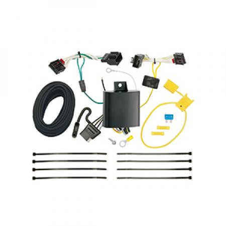 Trailer Wiring Harness Kit For 2016-2019 Volkswagen Passat Excluding SE and SEL