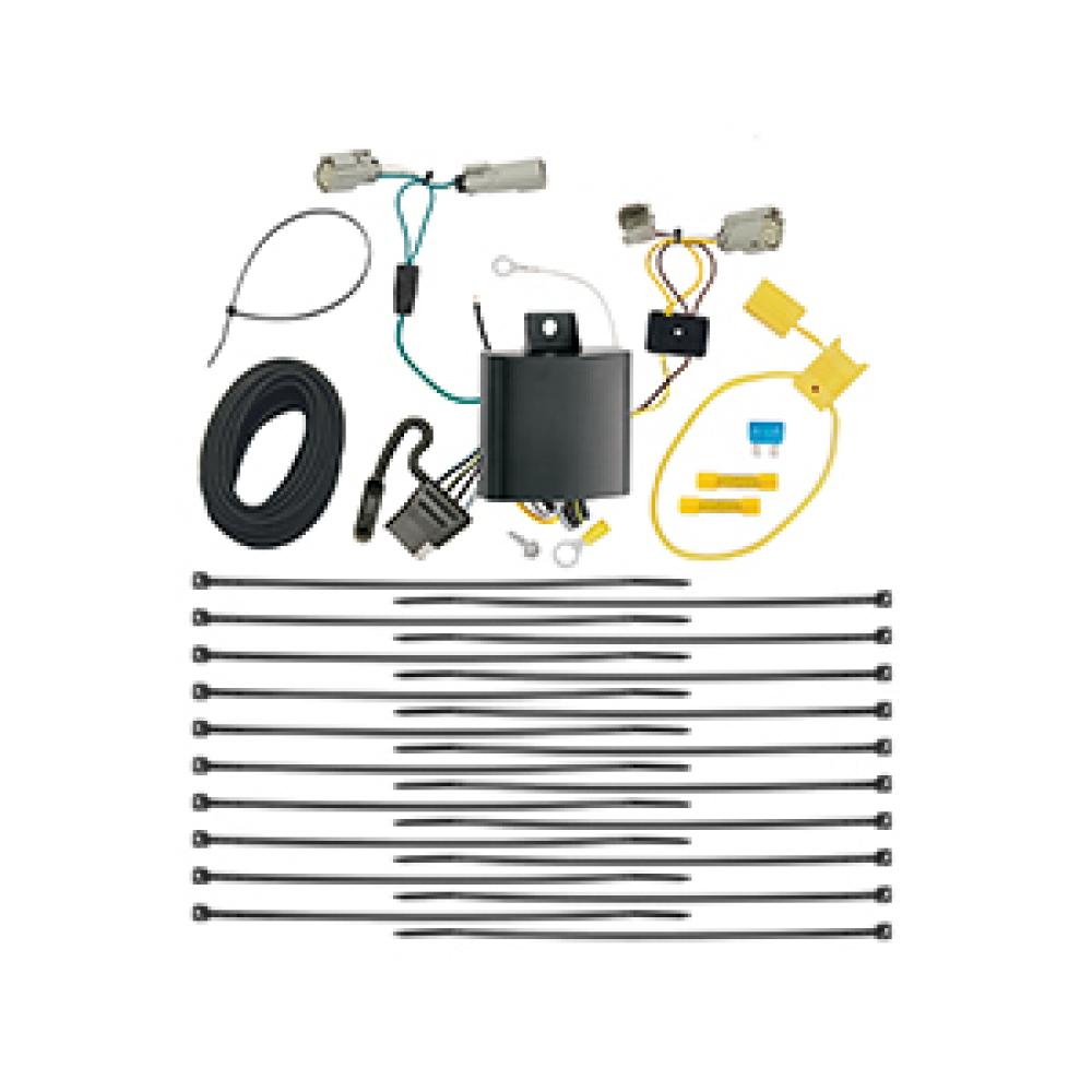 trailer wiring harness kit for 15 148 u0026quot  wheelbase
