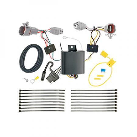 Trailer Wiring Harness Kit For 17-19 Subaru Impreza Hatchback