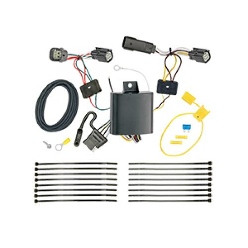 trailer wiring harness kit for 17 19 chevy trax except ls. Black Bedroom Furniture Sets. Home Design Ideas