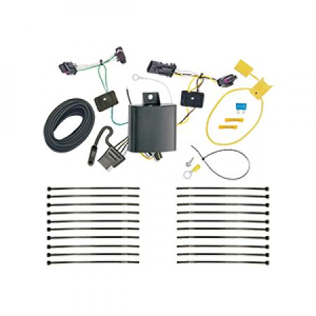 Trailer Wiring Harness Kit For 17-19 Jeep Compass (New Body Style)