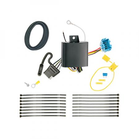 Trailer Wiring Harness Kit For 18-19 Honda Odyssey without Fuse Provisions