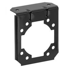 7-Way RV Round Tow Plug Harness Mounting Bracket
